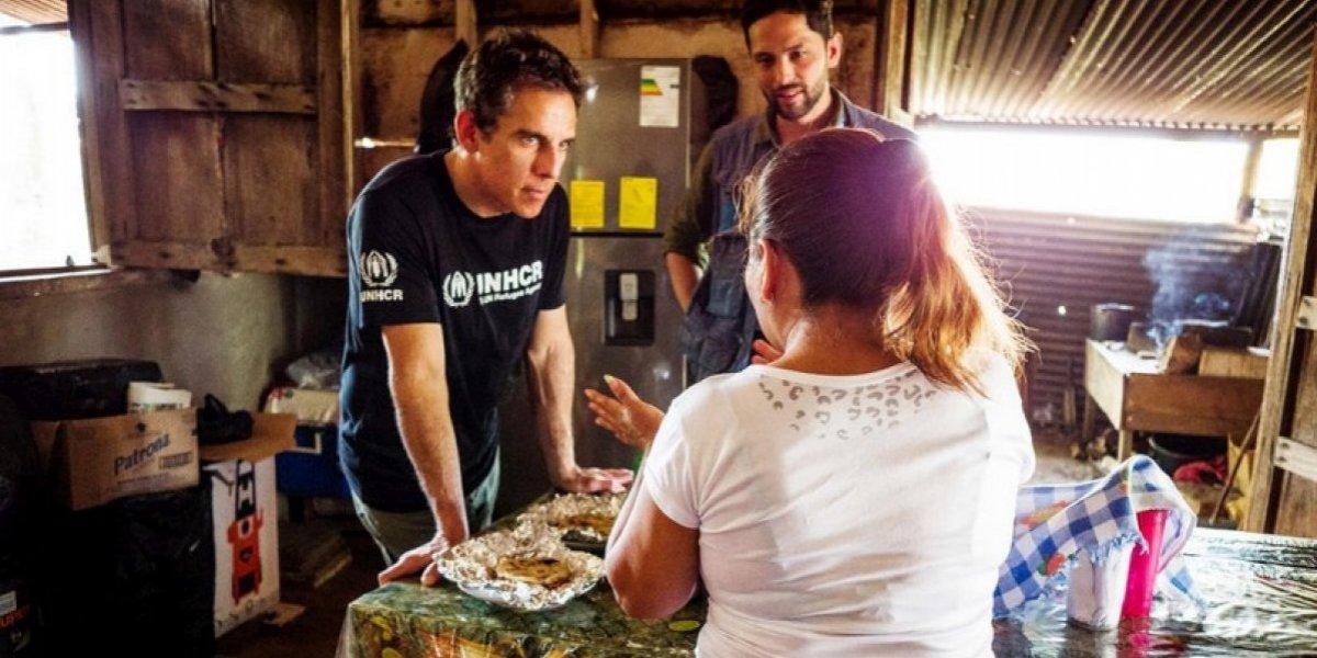 Ben Stiller es nombrado Embajador de Buena Voluntad de ACNUR, agencia de la ONU que trabaja en Guatemala