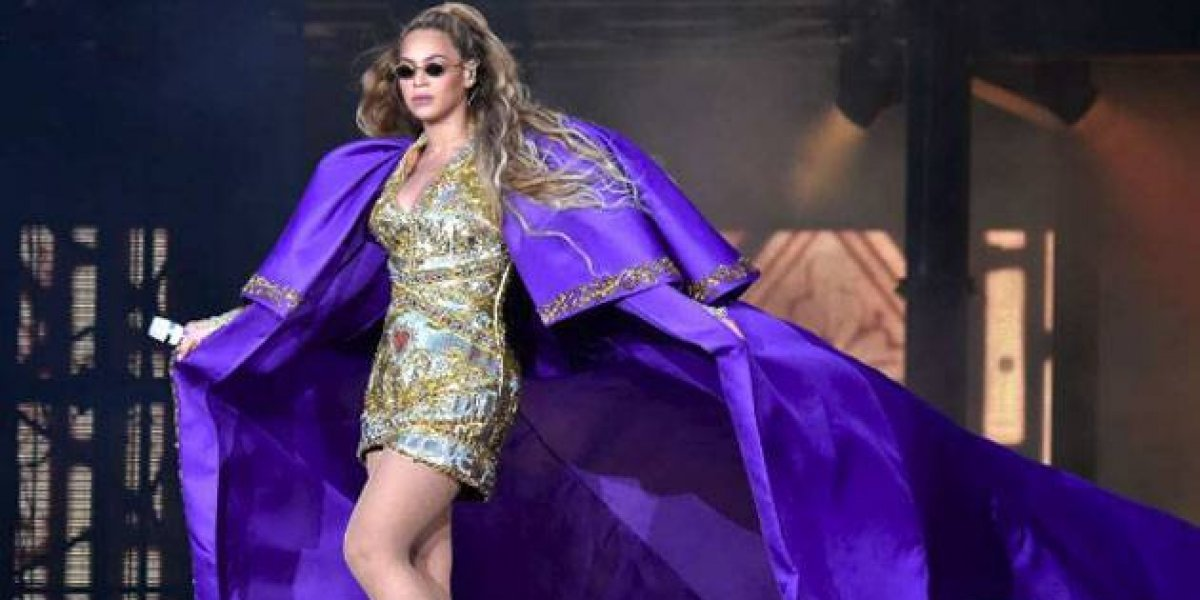 Beyoncé sufre vergonzoso accidente durante su concierto