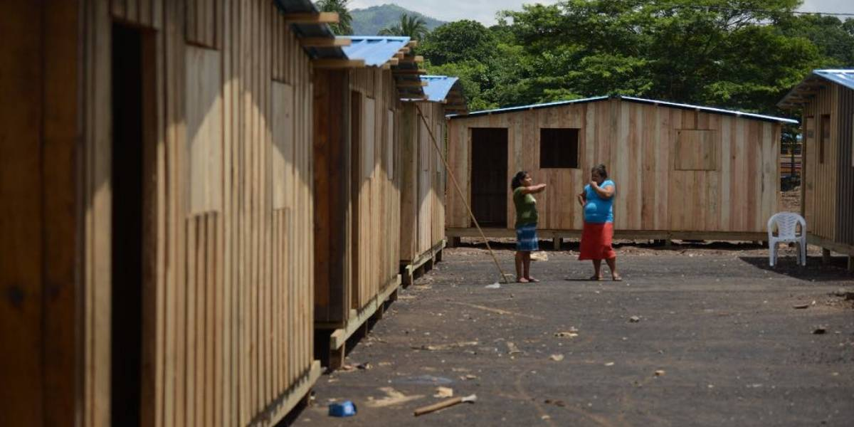 Se inicia el traslado de familias a viviendas temporales en Escuintla