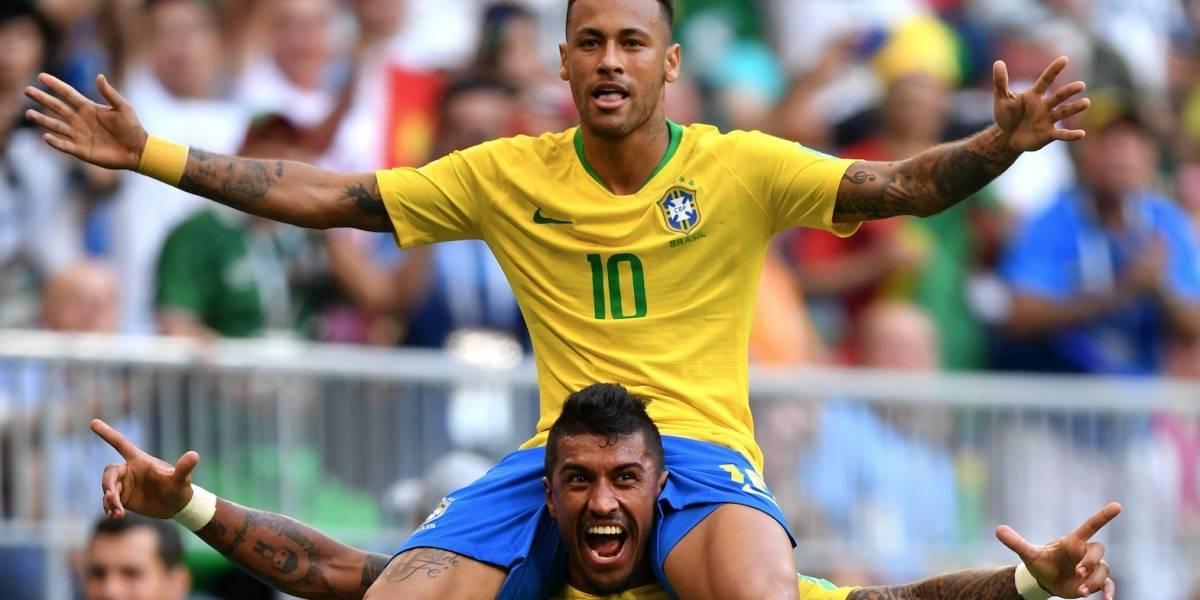¡Todo un héroe! Un Neymar descomunal le dio la clasificación a Brasil