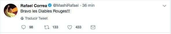 Rafael Correa no se presentó en la Corte Nacional de Justicia tras ser vinculado en caso Balda Twitter