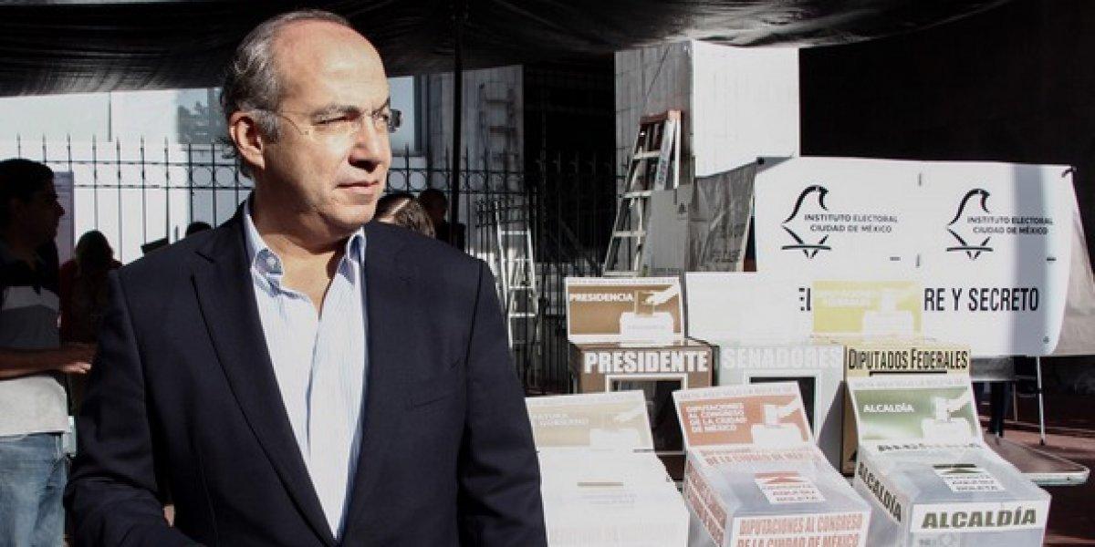 Felipe Calderón felicita a AMLO por su victoria en elección