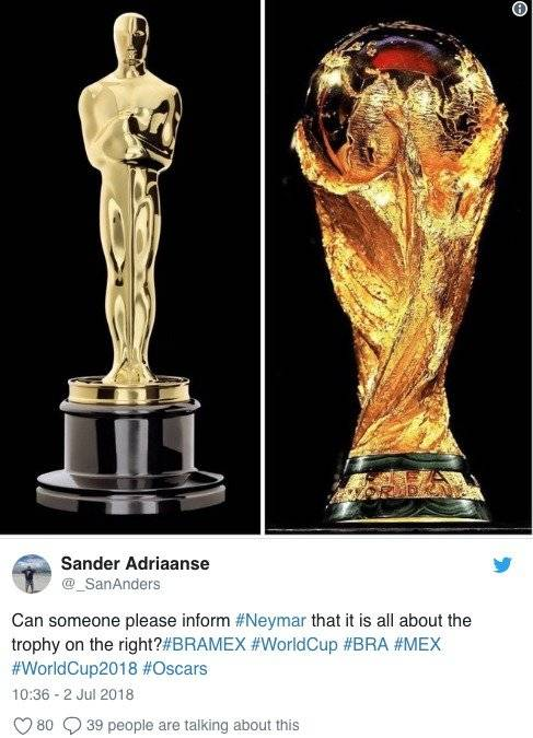 Memes de Neymar Twitter