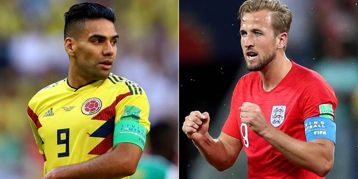 Colombia versus Inglaterra a las 2 pm. Los cafetaleros recuperan a James