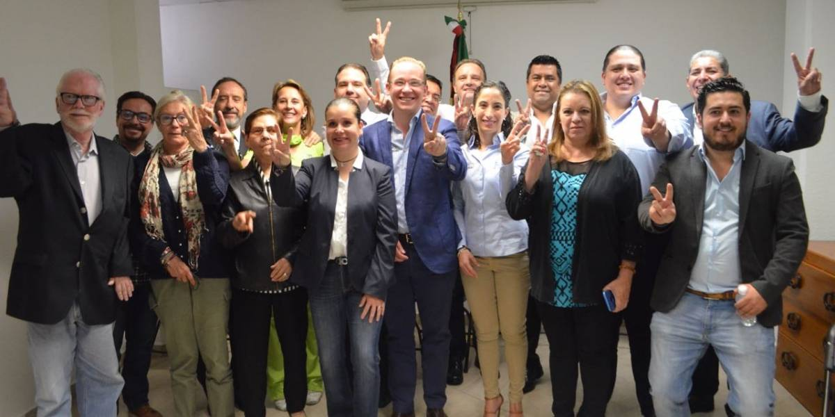 Gracias a la confianza de los ciudadanos; Ganamos en Benito Juárez: Christian von