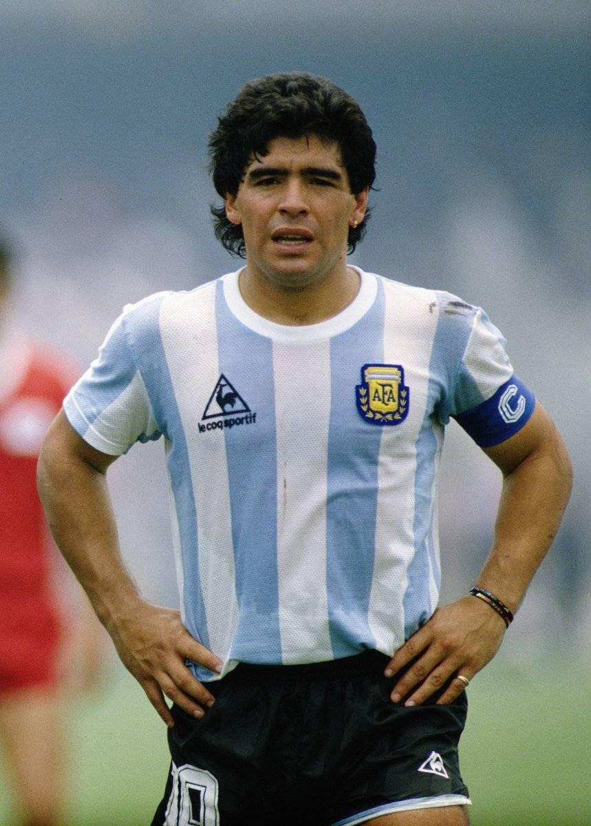 Maradona fue remplazado del trono.