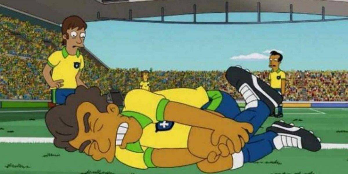 El día que los Simpson se burlaron de Neymar