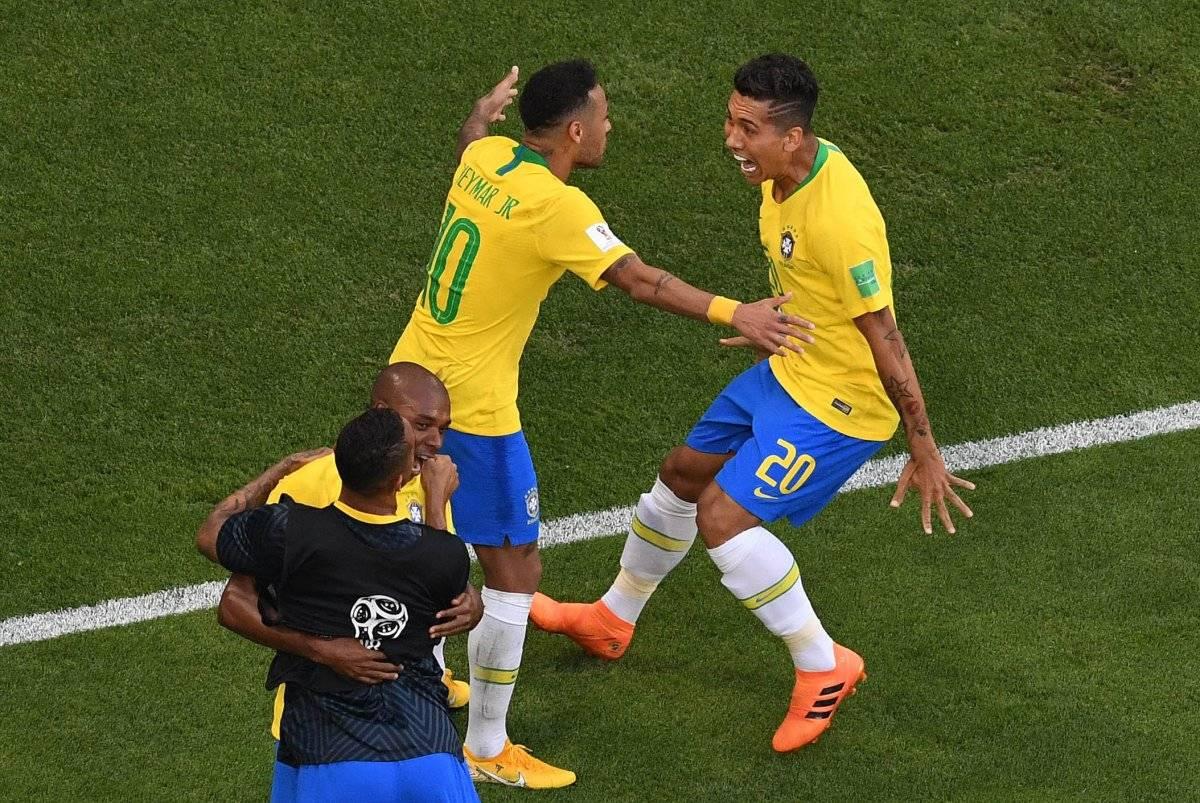 Firmino selló el triunfo de los brasileños