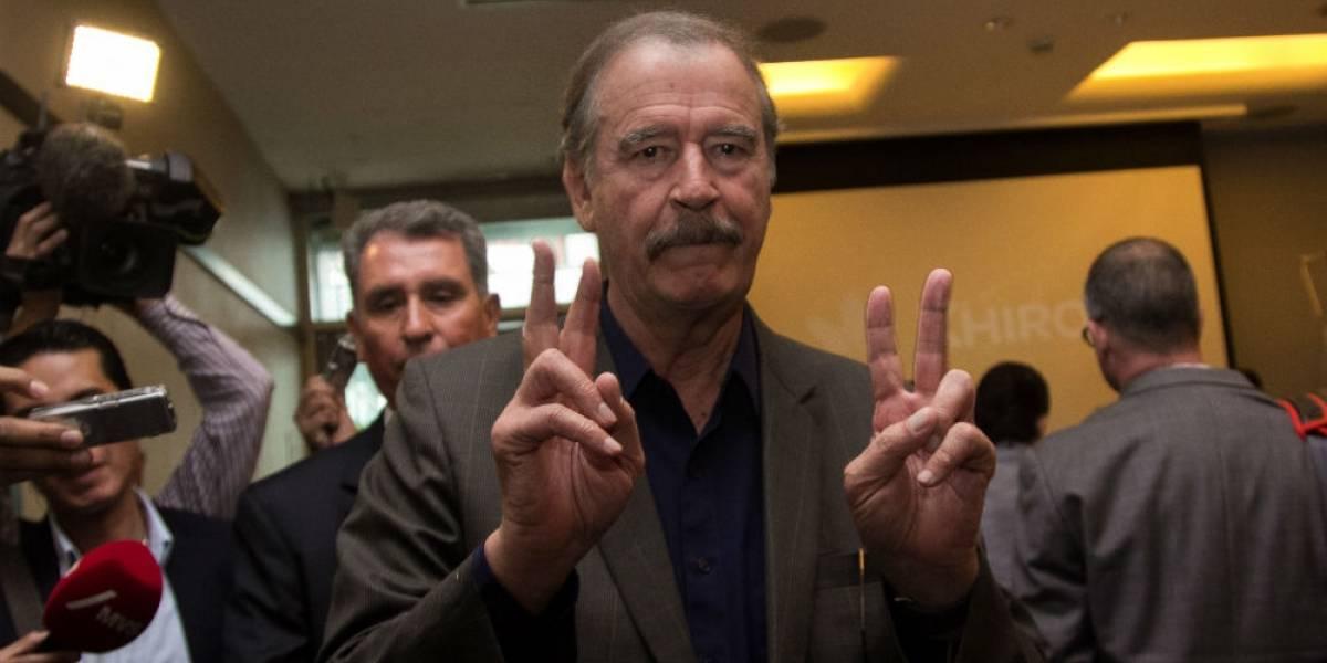 Fox felicita a AMLO y acepta quedarse sin pensión