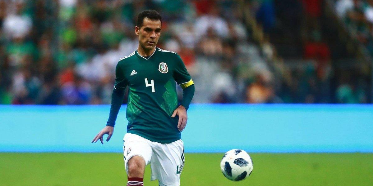 Rafa Márquez sorprende en la titularidad del Tri ante Brasil
