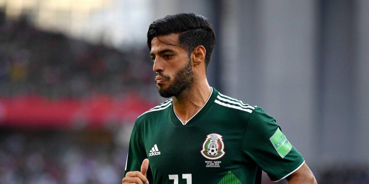 Vela, derrotado por la eliminación de México en Rusia 2018