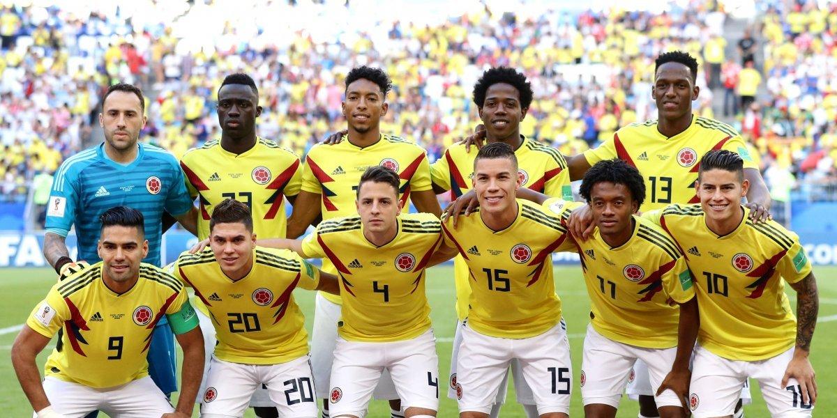 Así forma la Selección Colombia vs Inglaterra, en el Spartak Stadium