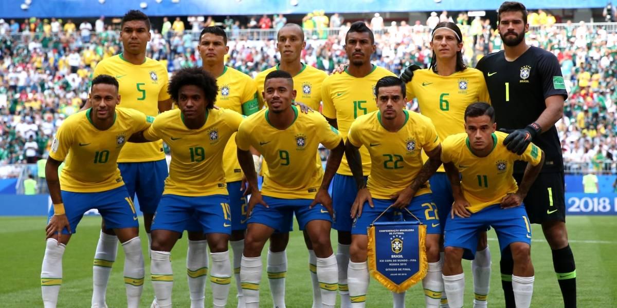 Brasil pierde a un jugador fundamental para los cuartos de final