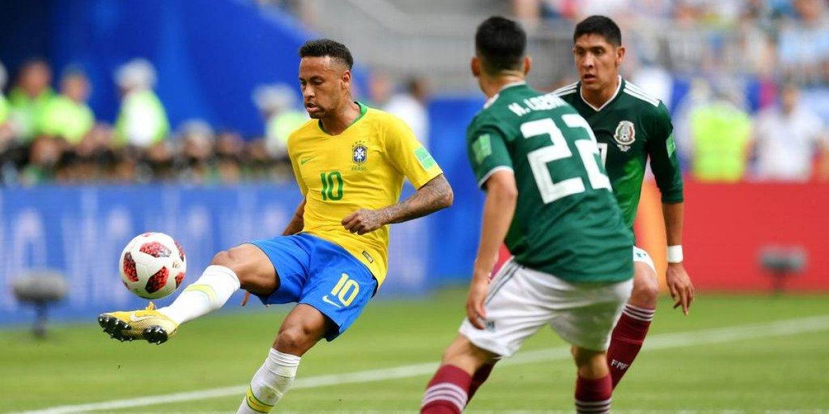 Así vivimos el triunfo de Brasil sobre México por los octavos del Mundial de Rusia