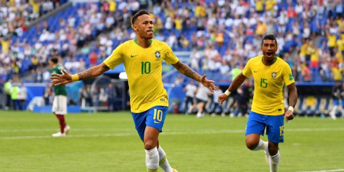 Cae otro de América: Apareció Neymar y Brasil eliminó a México de Rusia 2018