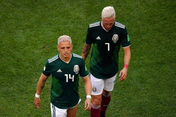Javier Hernández y Miguel Layún