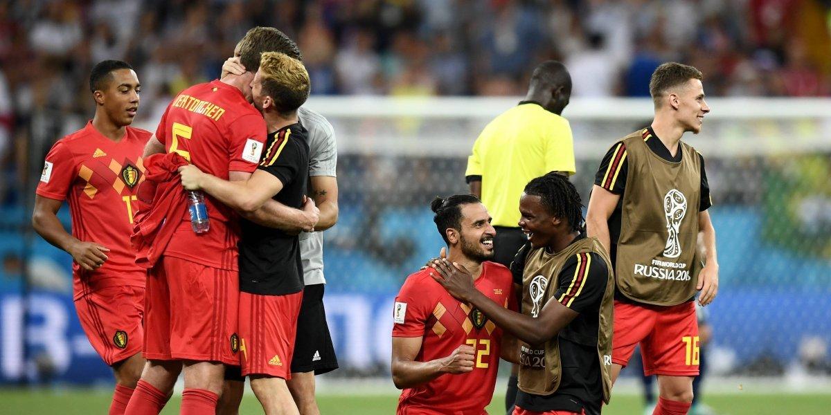 Con remontada, Bélgica iguala marca mundialista de hace 48 años