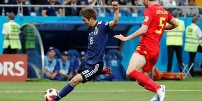 Japão x Bélgica