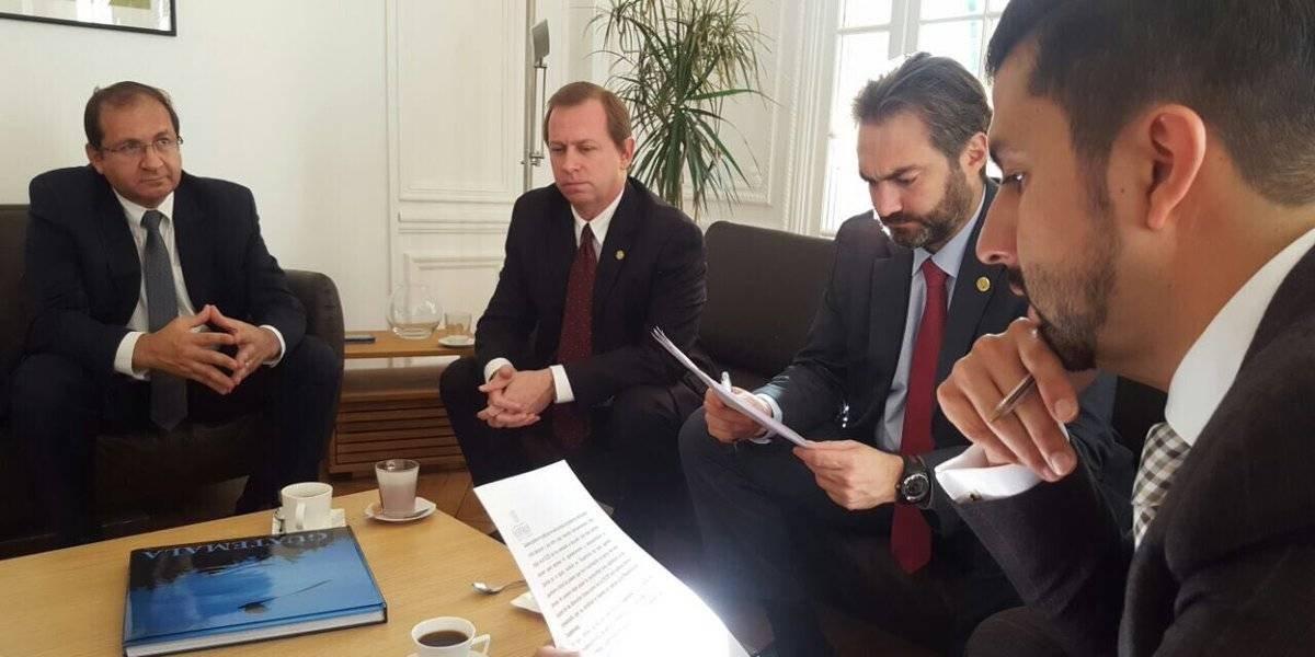 Guatemala presenta su candidatura para incorporarse al Centro de Desarrollo de la OCDE
