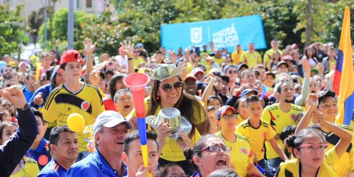 ¿Busca plan? Le contamos dónde ver el partido de Colombia vs Inglaterra en Bogotá