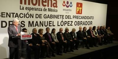 Gabinete de Andrés Manuel López Obrador