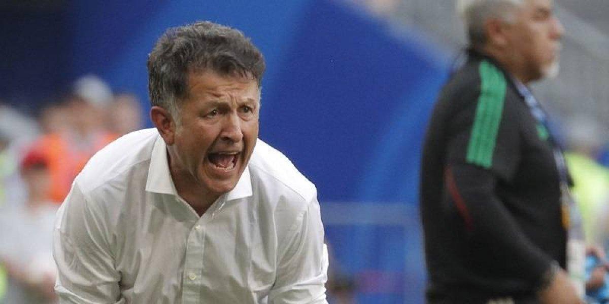"""Juan Carlos Osorio, DT de México: """"El árbitro favoreció totalmente a Brasil"""""""