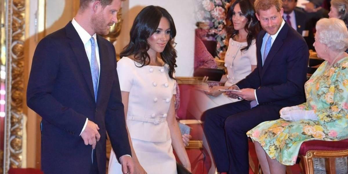El príncipe Harry no quiso tomar la mano de Meghan Markle en un evento real