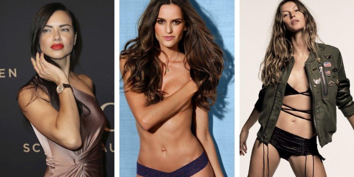 Modelos de Victoria's Secret celebran con sexys atuendos la victoria de Brasil ante México