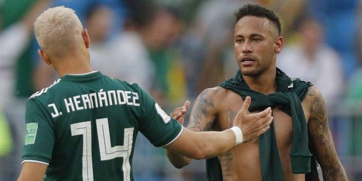 """La furia de Neymar con los mexicanos. """"Hablaron demasiado y se fueron para la casa"""""""