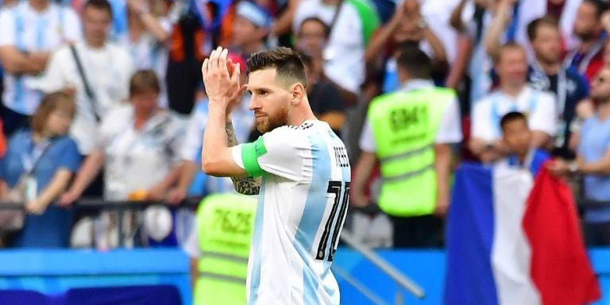 Pareja se divorcia por rendimiento de Lionel Messi en el Mundial