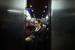 Roxana Baldetti trasladada a Tribunales por juicio del caso Lago de Amatitlán