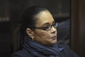 ex vicepresidenta Roxana Baldetti