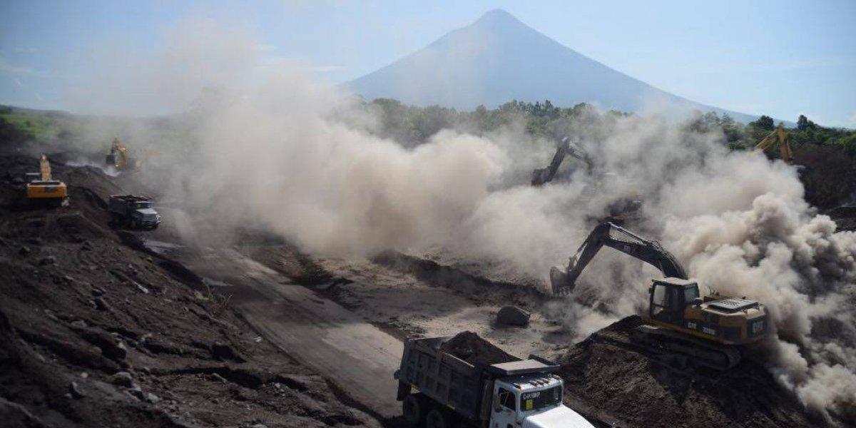 EN IMÁGENES. A casi un mes de la erupción, damnificados guardan la esperanza de encontrar a sus seres queridos