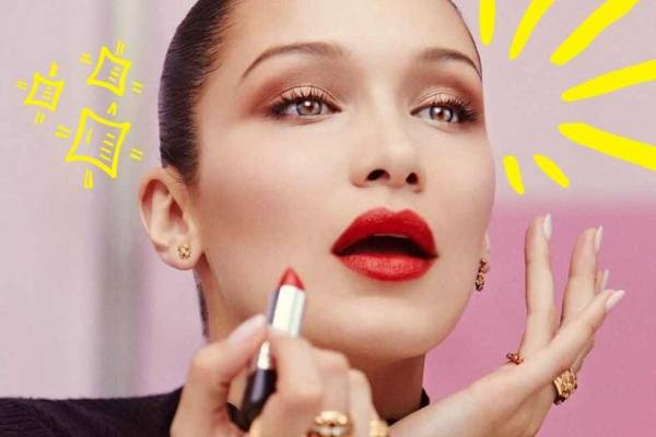 Bella Hadid maquillaje