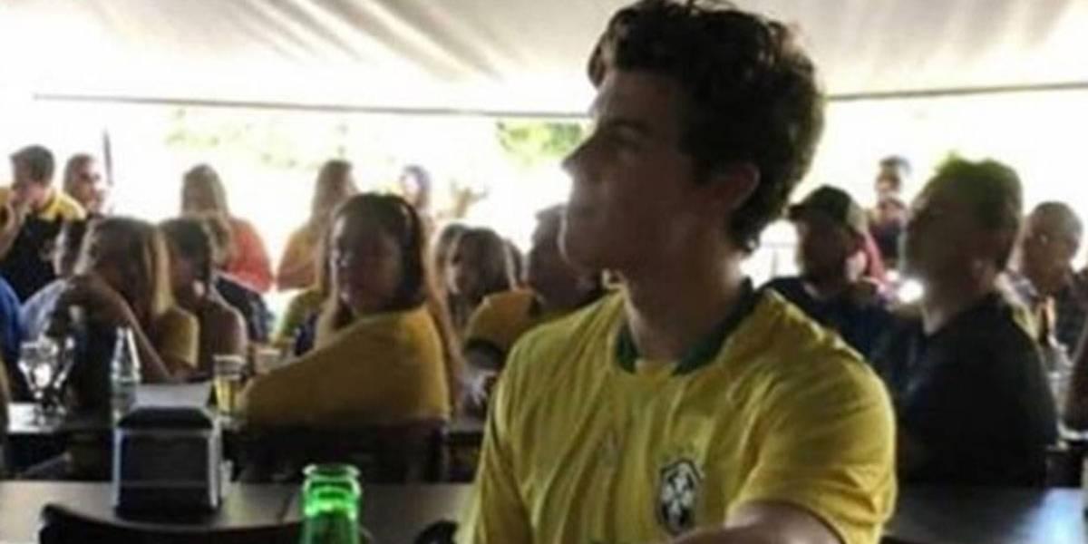 Shawn Mendes é do Brasil! Cantor torceu para a Seleção em bar de Goiânia