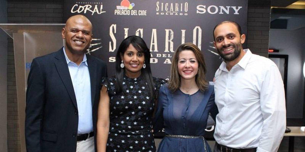#TeVimosEn: Palacio del Cine y Producciones Coral estrenan segunda parte de Sicario: El día del Soldado