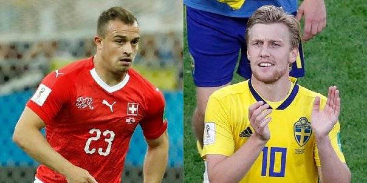 Suecia versus Suiza a las 10 am. Dos europeos en busca de hacer historia