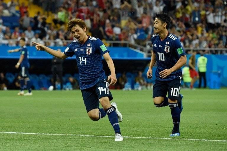 Takashi Inui anotó el segundo tanto de los japoneses