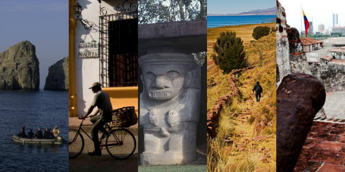 Estas son las nueve maravillas de Colombia, según la Unesco