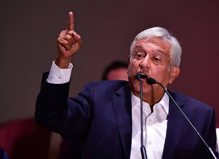 Andrés Manuel López Obrador. Foto: AFP