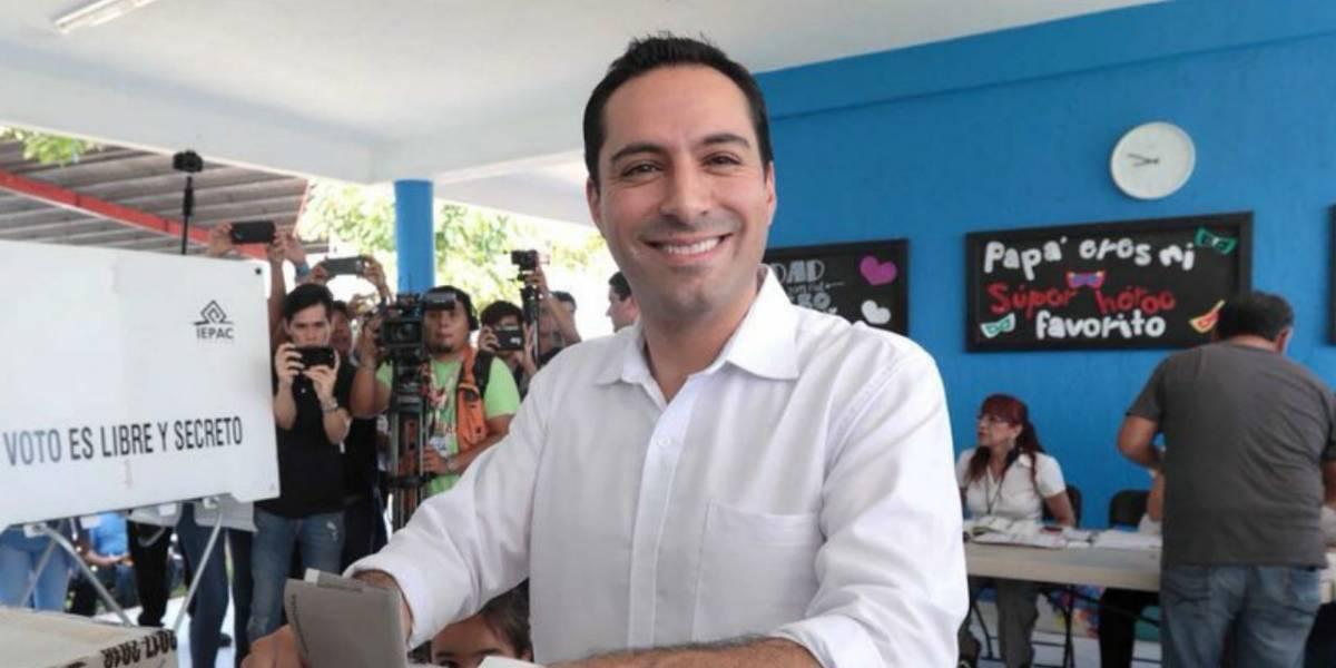 Mauricio Vila se declara ganador en Yucatán