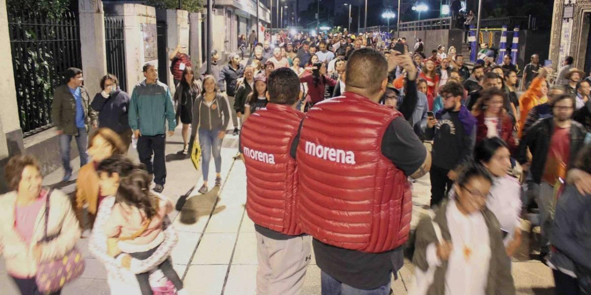 Festejos de AMLO desquician las calles del Centro Histórico