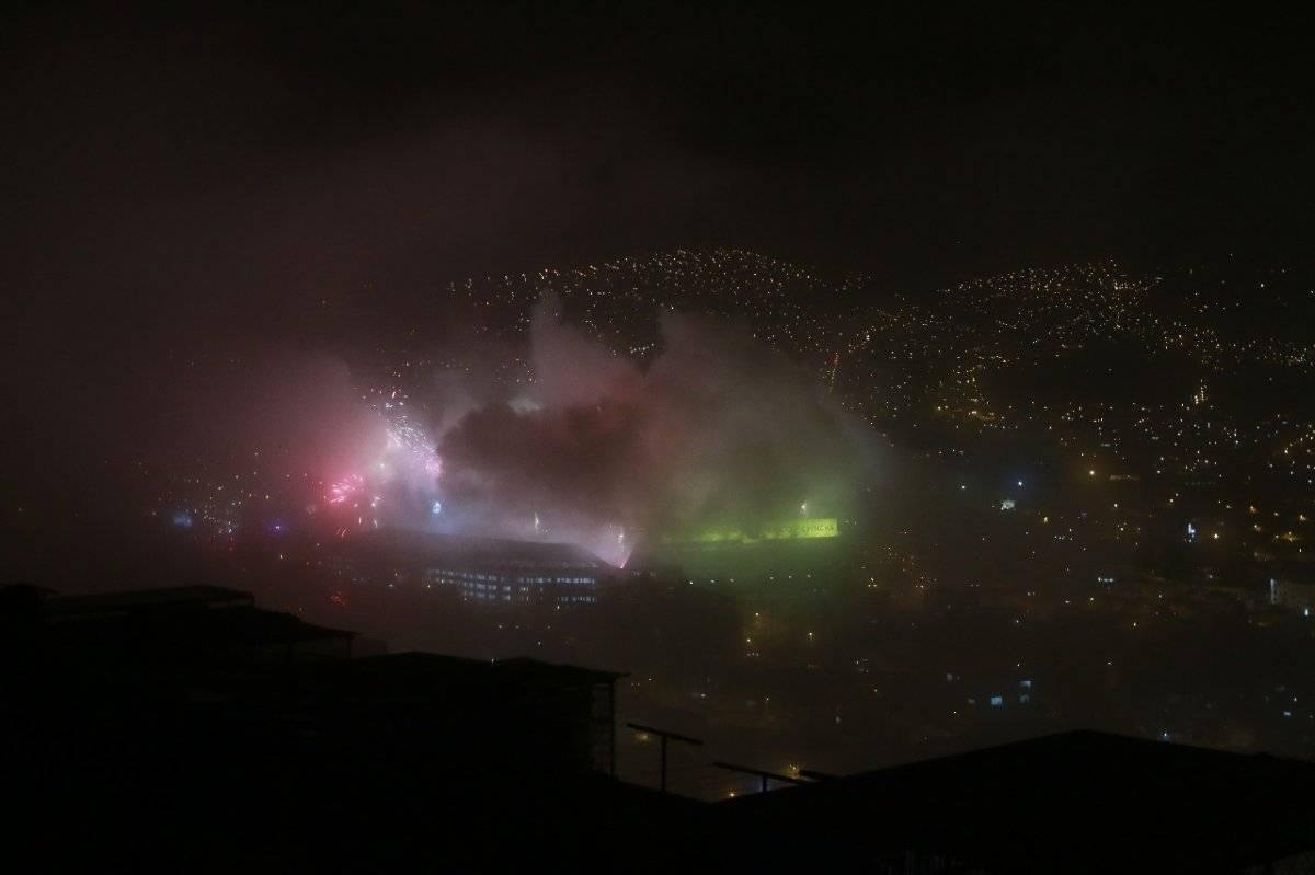 #10AñosLibertadores: La sorpresa de Liga de Quito en varios sectores de la Capital METRO