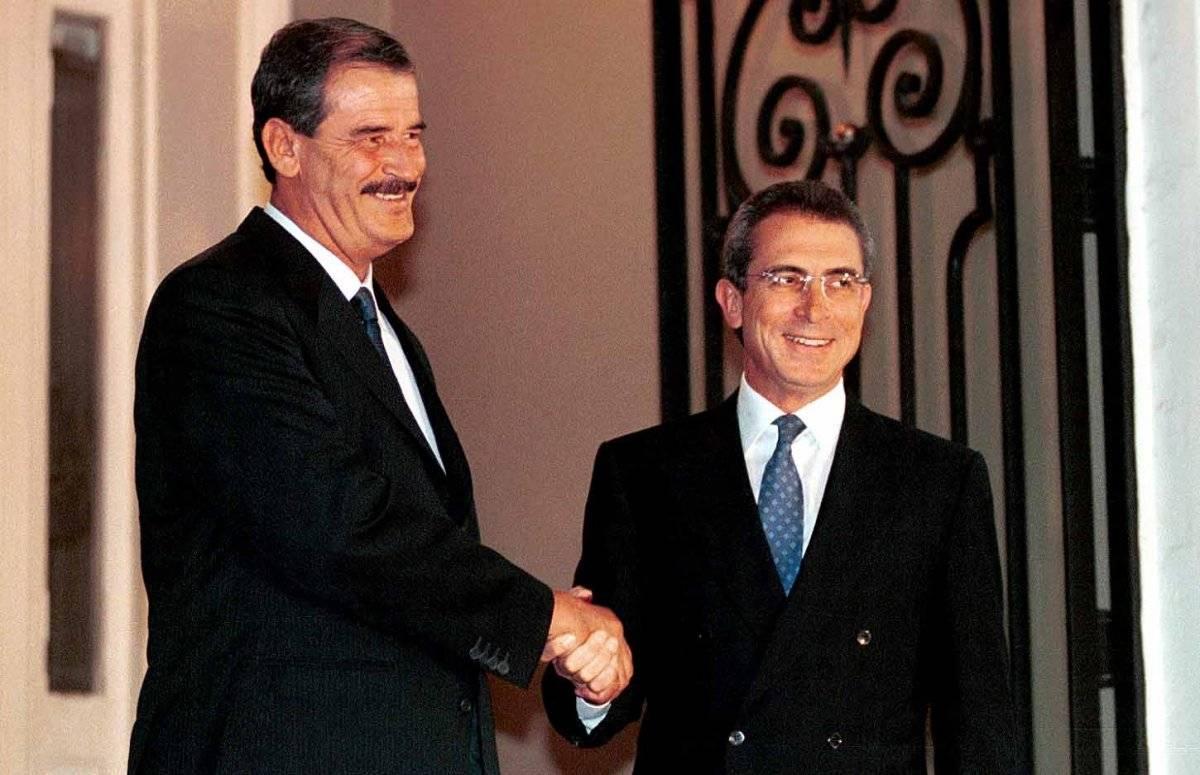 Vicente Fox y Ernesto Zedillo en el año 2000 Foto: Cuartoscuro