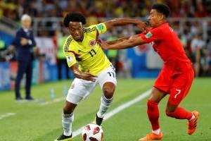 Colombia e Inglaterra