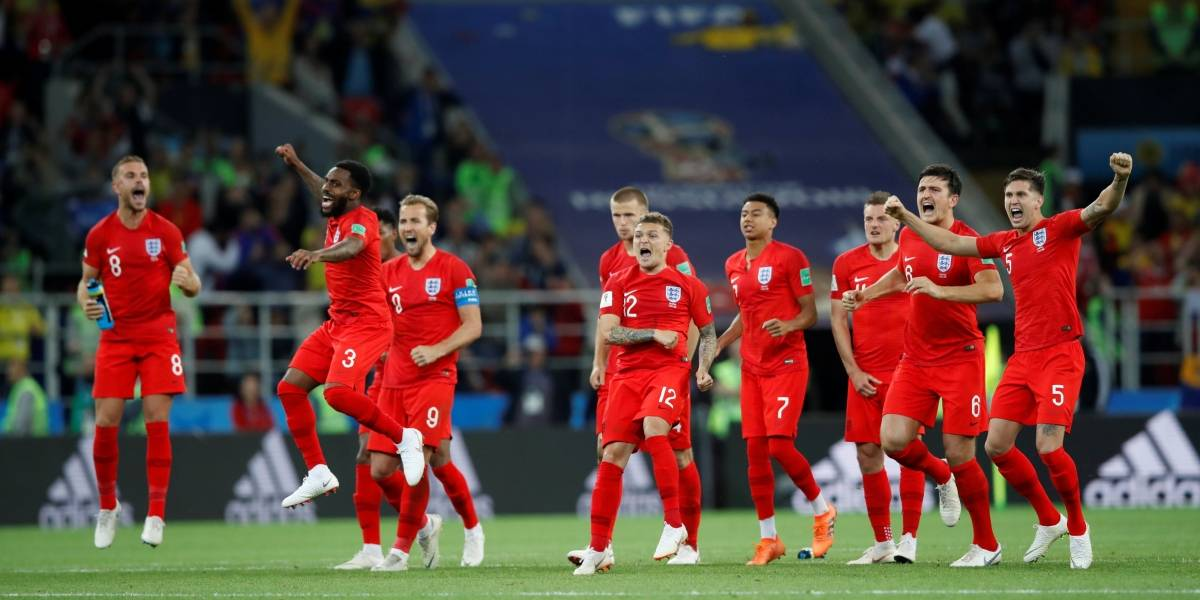Nos pênaltis, Inglaterra vence a Colômbia e está nas quartas