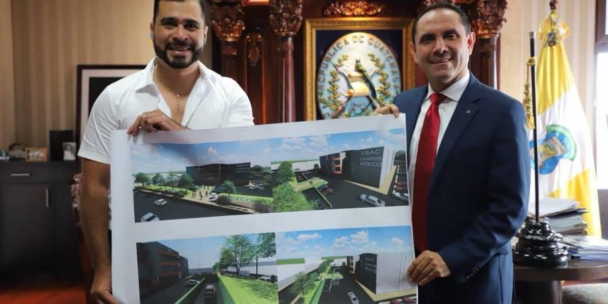 VIDEO. Construirán campus de la USAC en Mixco