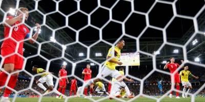 Colombia vs Inglaterra en los octavos de final del Mundial Rusia 2018