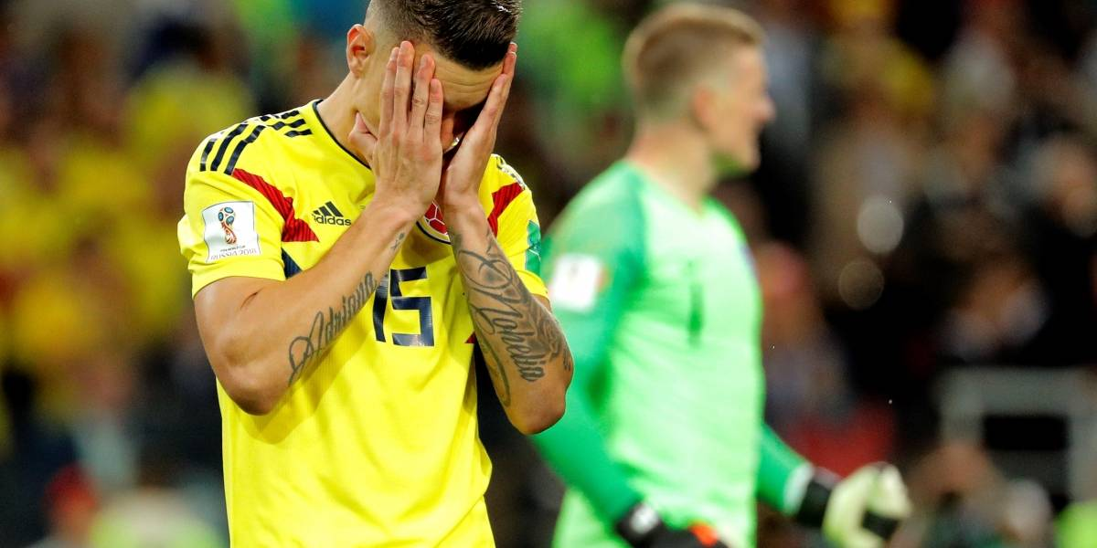 Colombia vs Inglaterra: Dos fallos bastaron para que Colombia se despida del Mundial Rusia 2018