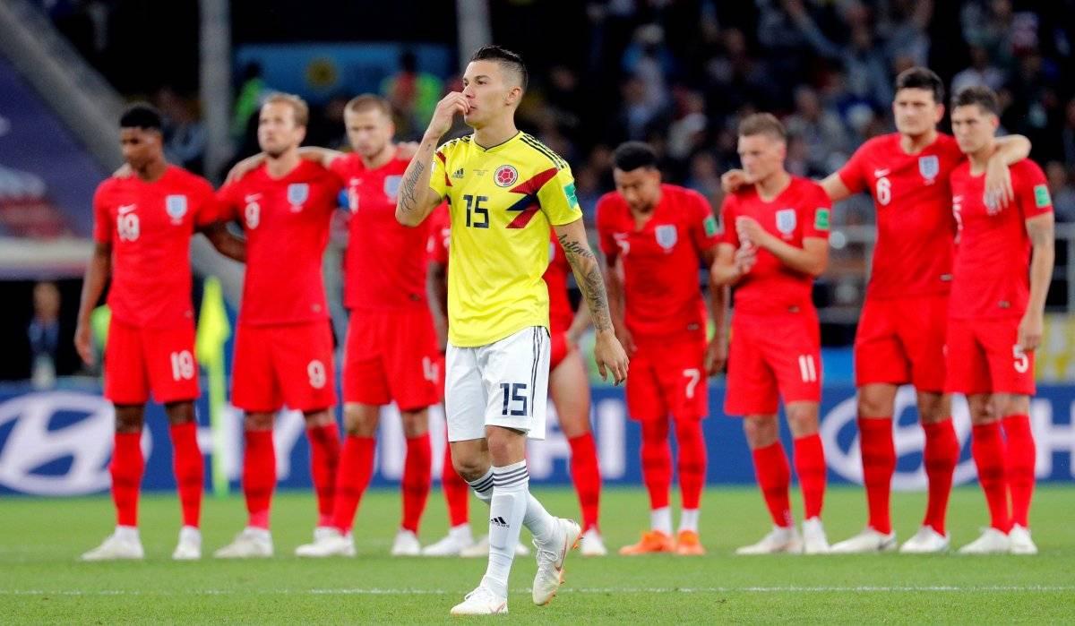 Colombia vs Inglaterra: Dos fallos bastaron para despedir a Colombia del Mundial Rusia 2018 EFE